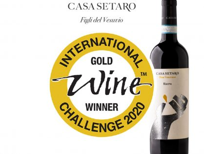 Casa Setaro, Medaglia d'Oro per Don Vincenzo all'International Wine Challenge 2020